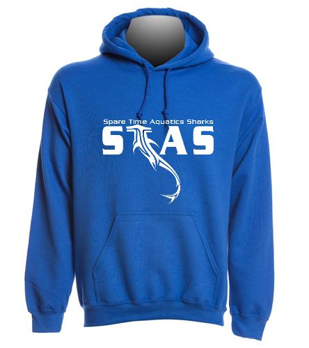Blue STAS sweatshirt - SwimOutlet Heavy Blend Unisex Adult Hooded Sweatshirt