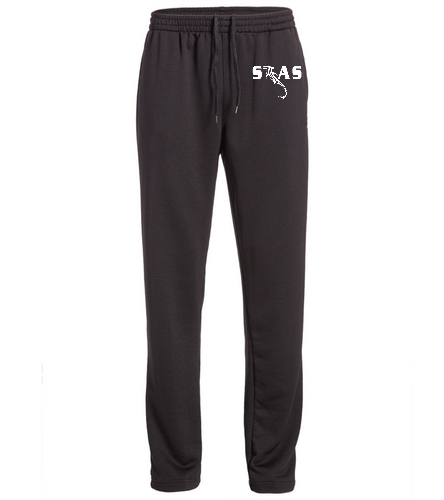 Men's black STAS warm up pant - TYR Alliance Victory Male Warm Up Pant