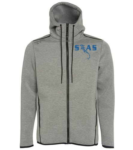 STAS men's zip hoodie - TYR Men's Elite Team Full Zip Hoodie