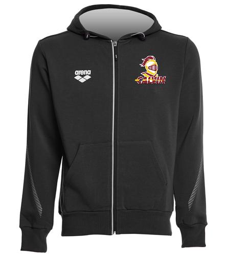 Calvin Full Zip Hoody - Arena Unisex Team Line Fleece Hooded Jacket