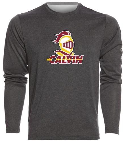 Calvin Men's LS Shirt - SwimOutlet Men's Long Sleeve Tech T Shirt