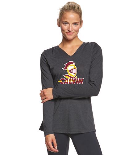 Calvin Lightweight Women's Hoody - SwimOutlet Women's Perfect Long Sleeve Hoodie