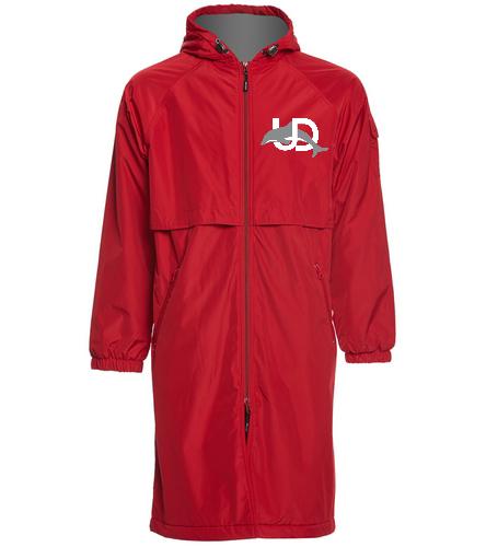 UD Logo Parka - Sporti Comfort Fleece-Lined Swim Parka