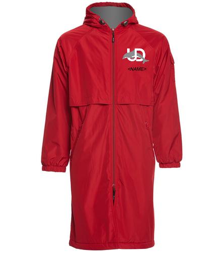 UD Logo Parka 1 - Sporti Comfort Fleece-Lined Swim Parka