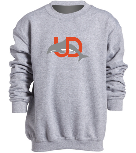 Team Logo Youth Crewneck - SwimOutlet Heavy Blend Youth Crewneck Sweatshirt