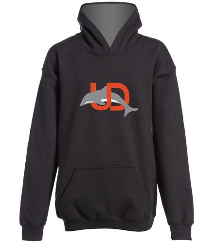 Team Logo Youth Hooded Sweatshirt - SwimOutlet Youth Heavy Blend Hooded Sweatshirt