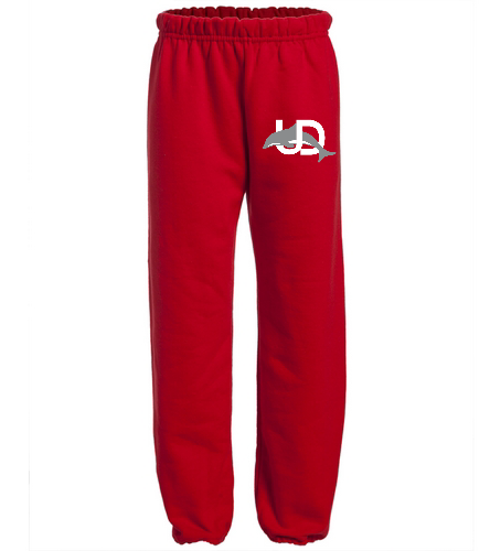 UD Logo Youth Sweatpant - red - SwimOutlet Heavy Blend Youth Sweatpant