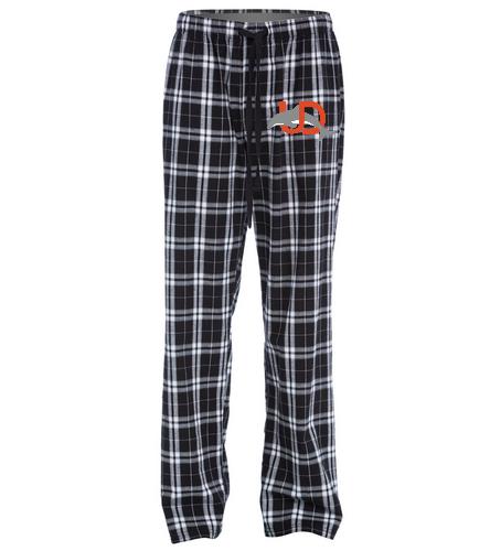 UD Logo Flannel Pant - plaid - SwimOutlet Unisex Flannel Plaid Pant