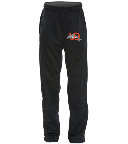 UD Logo Youth Track Pant - black - SwimOutlet Sport-Tek®Youth Tricot Track Pant