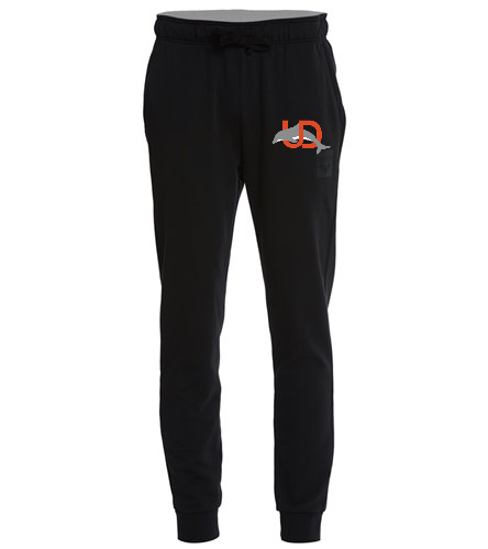 UD Logo Arena Men's Jogger - black - Arena Men's Cotton Gym Jogger Pant