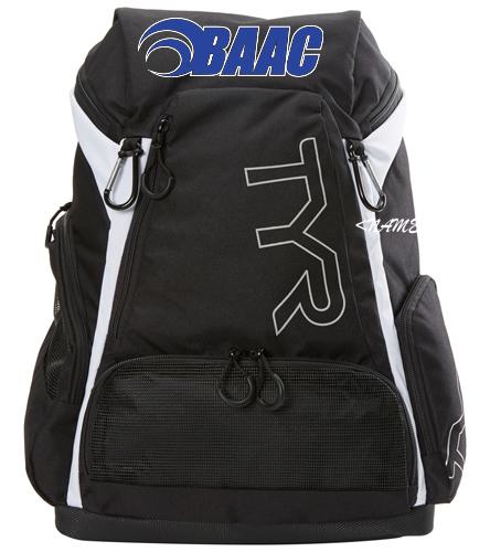 Med. Backpack Black/White - TYR Alliance 30L Backpack