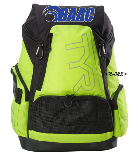 Large Backpack Neon Yellow - TYR Alliance 45L Backpack