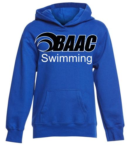 Youth Hoodie BAAC Logo - SwimOutlet Youth Fan Favorite Fleece Pullover Hooded Sweatshirt