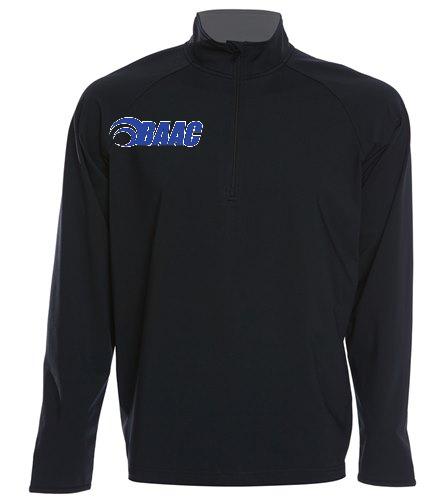 Half-Zip Black - SwimOutlet Sport-Tek®Sport-Wick® Stretch 1/2-Zip Pullover