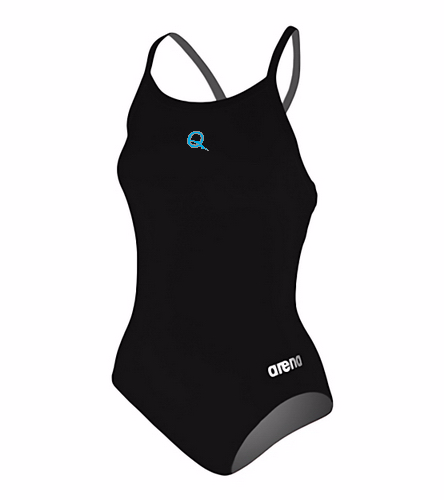 QSS - Arena Women's Master MaxLife Sporty Thin Strap Racer Back One Piece Swimsuit