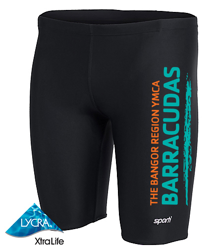 Barracuda  - Sporti Solid Compression Jammer Swimsuit