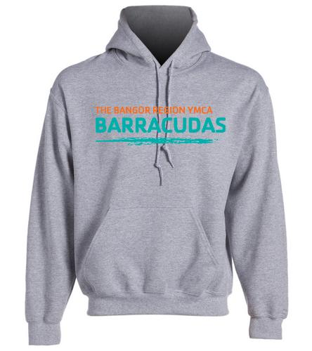 Adult-Barracudas-Hoodie - SwimOutlet Heavy Blend Unisex Adult Hooded Sweatshirt