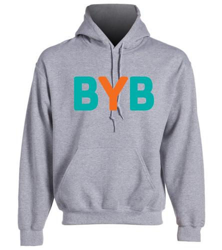 Adult-Hoodie-BYB-personal - SwimOutlet Heavy Blend Unisex Adult Hooded Sweatshirt