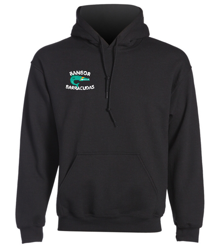 Old-school-Barracuda - SwimOutlet Heavy Blend Unisex Adult Hooded Sweatshirt