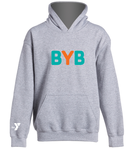 Youth-BYB-Hoodie - SwimOutlet Youth Heavy Blend Hooded Sweatshirt