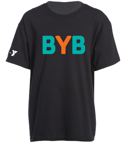 Youth-Tee-BYB-blue-fish - SwimOutlet Youth Cotton Crew Neck T-Shirt