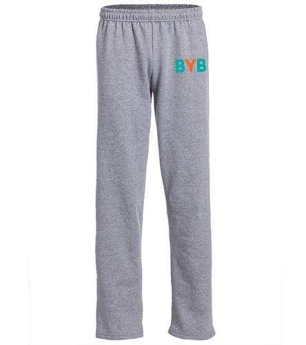 sweatpants-BYB - SwimOutlet Heavy Blend Unisex Adult Open Bottom Sweatpants