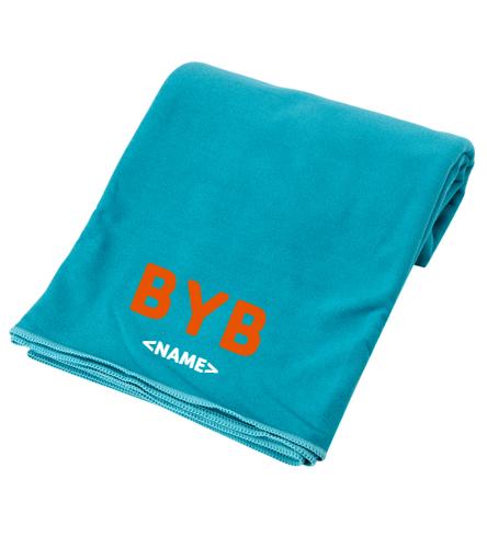 towel-BYB-personalized - Everyday Yoga Microfiber Mat Towel