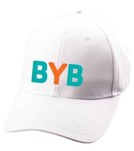 Ballcap-white-BYB - SwimOutlet Unisex Performance Twill Cap