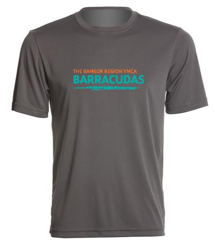 Bangor-Barracuda-Sport-Tee - SwimOutlet PosiCharge® Competitor™ Tee
