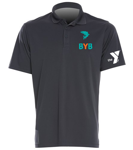 Polo-BYB-Blue-fish - SwimOutlet Sport-Tek®PosiCharge® Competitor™Polo