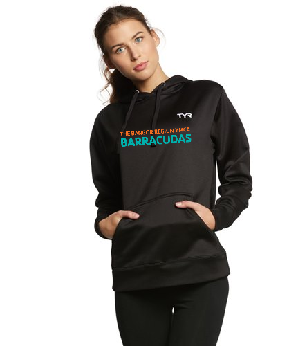womens-hoodie-barracudas - TYR Women's Alliance Pullover Hoodie