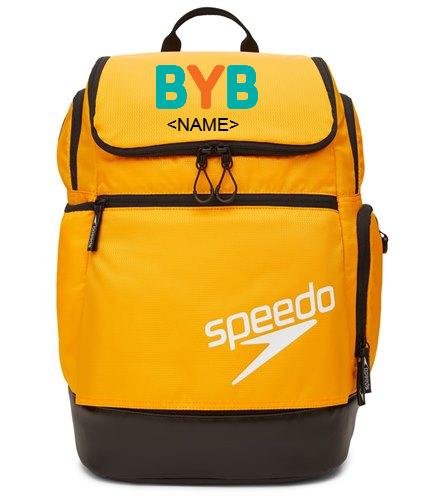 BYB-Personalize-Orange - Speedo Teamster 2.0 35L Backpack