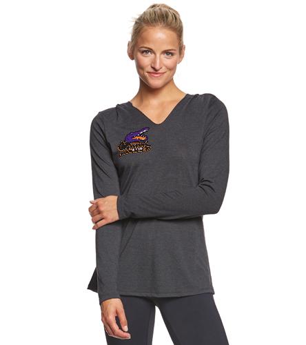 gators - SwimOutlet Women's Perfect Long Sleeve Hoodie