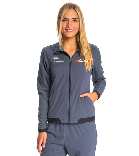 TIGERSHARKS - Speedo Women's Tech Warm Up Jacket