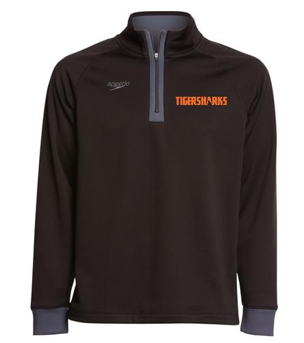TIGERSHARKS - Speedo Unisex 3/4 Zip Sweatshirt