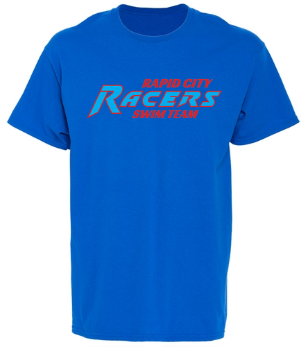 RCR Blue Youth T-Shirt - SwimOutlet Youth Cotton Crew Neck T-Shirt