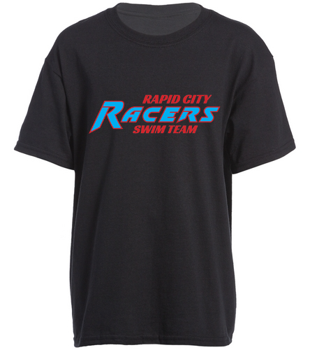 RCR Black - SwimOutlet Youth Cotton Crew Neck T-Shirt