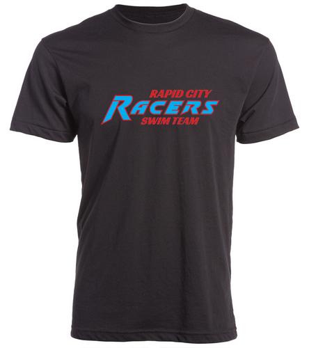 RCR Black  T-Shirt - Swimoutlet Custom Unisex Fitted Crew Neck T-Shirt