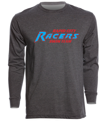 RCR Grey - SwimOutlet Unisex Long Sleeve Crew/Cuff