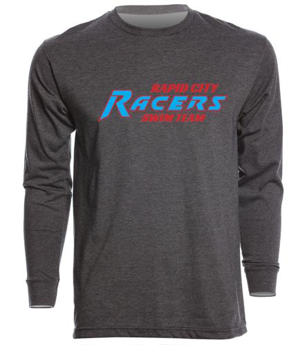 RCR Grey - SwimOutlet Unisex Long Sleeve Crew/Cuff