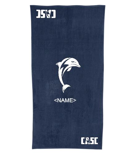 ntt - Royal Comfort Terry Velour Beach Towel 32 X 64