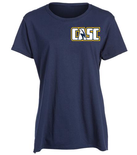 hcmnt - SwimOutlet Women's Cotton Missy Fit T-Shirt