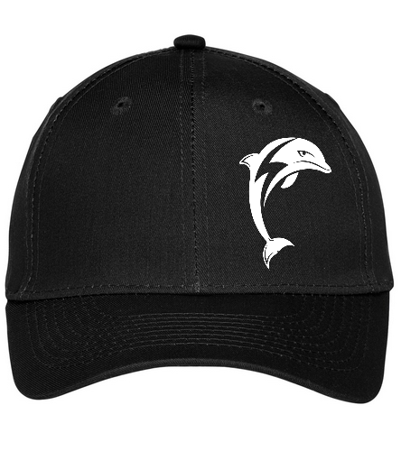 backteamhat - SwimOutlet Unisex Performance Twill Cap