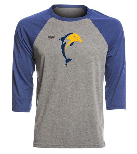 nbt - Speedo Unisex Baseball Tee Shirt