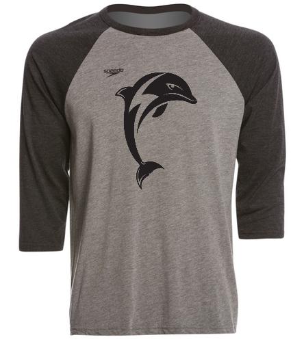 bbt - Speedo Unisex Baseball Tee Shirt