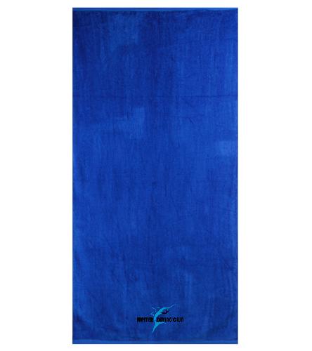 Jupiter Diving Royal towel  - Royal Comfort Terry Velour Beach Towel 32 X 64