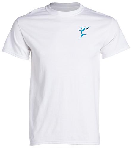 Jupiter Diving Club Team Adult T-shirt - SwimOutlet Unisex Cotton Crew Neck T-Shirt