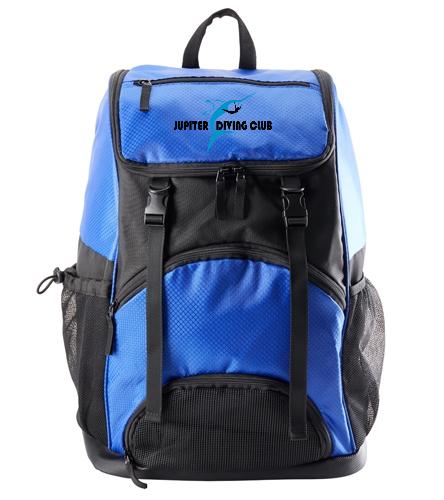 Jupiter Diving Club dive bag w/Logo - Sporti Large Athletic Backpack