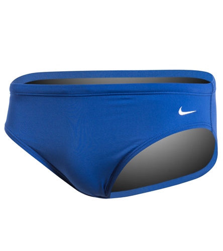 Laurelwood - Nike Men's Solid Poly Brief Swimsuit