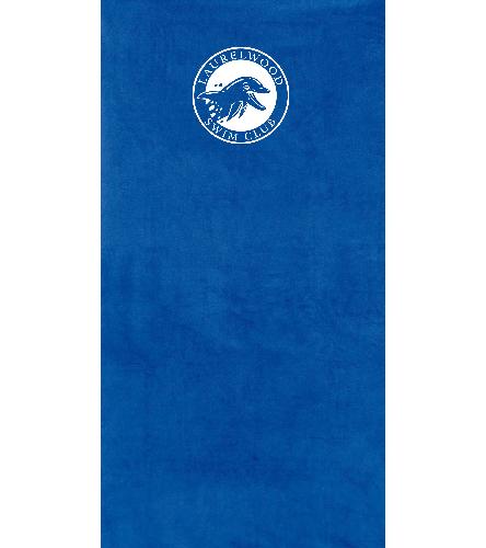 Laurelwood Club - Dohler Solid Beach Towel 40 x 76